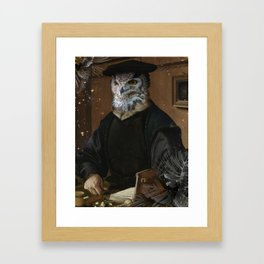 The Wise Owl Framed Art Print