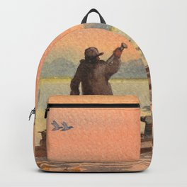 Duck Hunting On A perfect Day Backpack