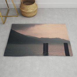 mountains inner peace Rug