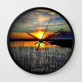 Cabsink16DesignerPatternNCL Wall Clock
