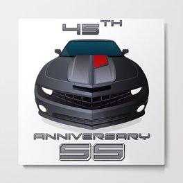 2012 Camaro SS 45th Anniversary edition Metal Print