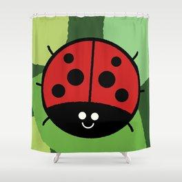 Cutesy Crawlies — Ladybird Shower Curtain