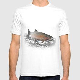Migrating Steelhead Trout T-shirt