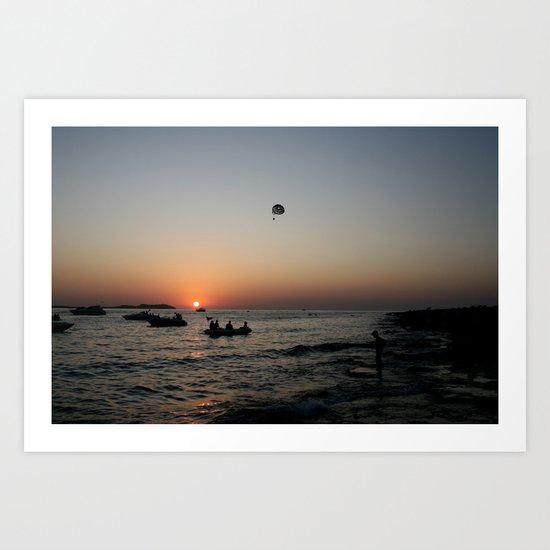 Ibiza España Art Print