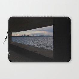Sea City Skyline Laptop Sleeve