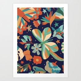 Garden I Art Print