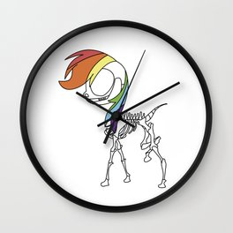 PONIES FOREVER Wall Clock