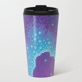 Purple Aura Galaxy Travel Mug