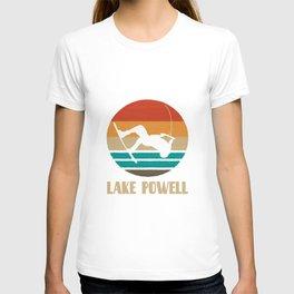 Lake Powell  TShirt Wakeboarding Shirt Wakeboarder Gift Idea  T-shirt