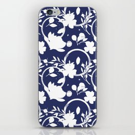 Blue And White Pattern No. 1 iPhone Skin