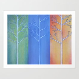 """Fall, Winter, Spring"" Art Print"
