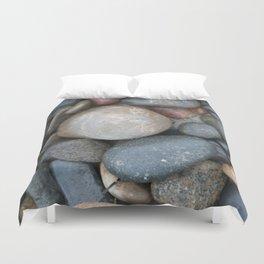 Rocks, Carlsbad Tide Pools, Carlsbad, CA. Duvet Cover