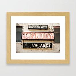 Prairie Pride Framed Art Print