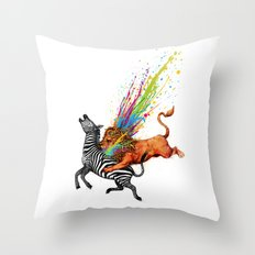 Kill Monotony Throw Pillow