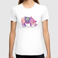 rhino T-shirts featuring Rhino by mark ashkenazi