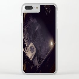 Midnight in Tehran Clear iPhone Case