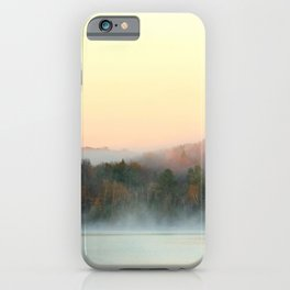 Misty Mountains iPhone Case