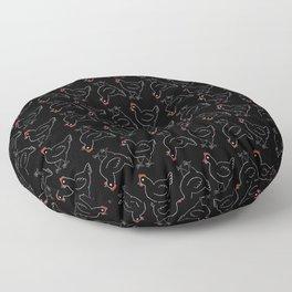 Poule Noire Floor Pillow