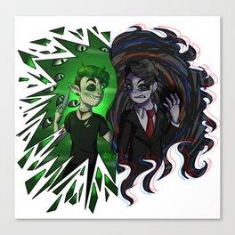 Antisepticeye VS Darkiplier Canvas Print