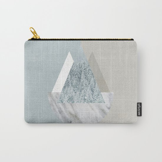 Under the Snow Carry-All Pouch