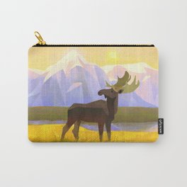 Moose Mountain Morning Carry-All Pouch