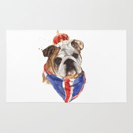 Thank you LONDON - British BULLDOG - Jubilee Art Rug