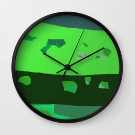 Layers On Layers Wall Clock