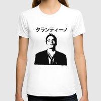 tarantino T-shirts featuring QUENTIN TARANTINO by Tia Hank