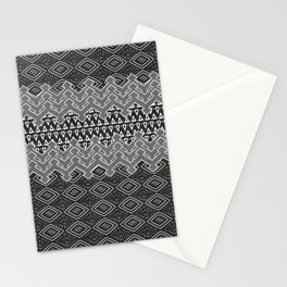 Akra in Black and White Stationery Cards