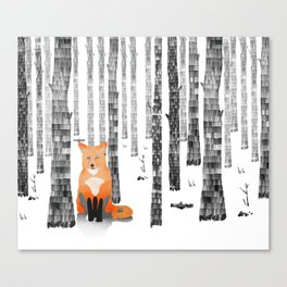 Out of the woods Canvas Print