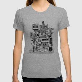 Downtown Brandon Manitoba T-shirt