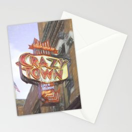 Crazy Town Stationery Cards