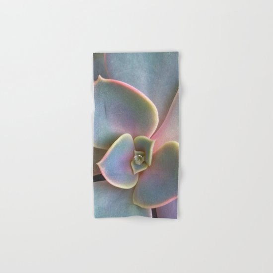 Succulent Dew Drop Hand & Bath Towel