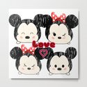 Mickey And Minnie Love Tsums by katastra