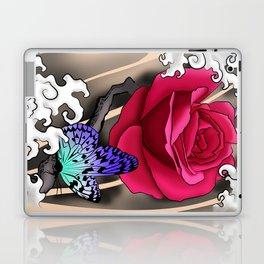 Rose Tattoo Laptop & iPad Skin