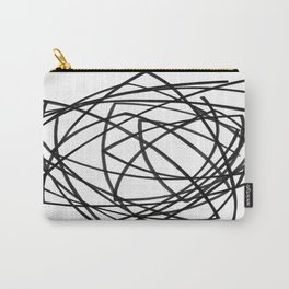 Spiraling Carry-All Pouch