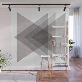 Geo Triangles Wall Mural