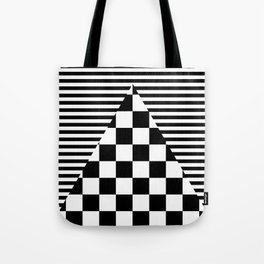 Mixed Patterns Tote Bag