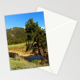 Along Fall River Stationery Cards