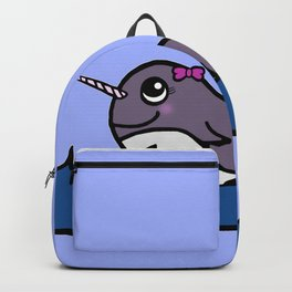 Baby Girl Narwhal Backpack