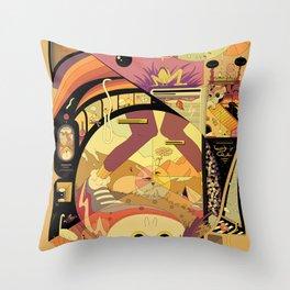 Rent and Nature Throw Pillow