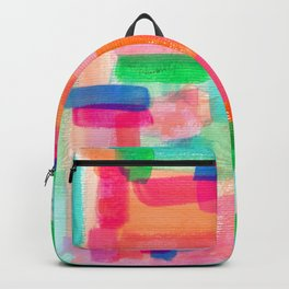 Acrylic Painting Modern Abstract Pattern - Welcome To My Fantasy Backpack