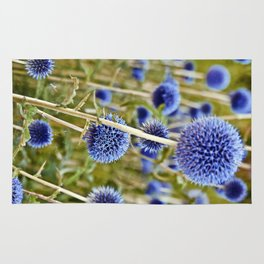 BLUE WILD THISTLE Rug