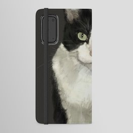 Cat Eightball Android Wallet Case
