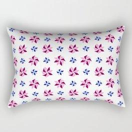 stars 92- blue and pink Rectangular Pillow