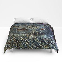 Neon Owl Comforters