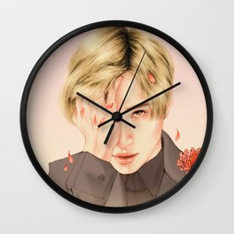 chrysanthemum [taemin shinee] Wall Clock