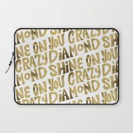 Shine On You Crazy Diamond – Gold Palette Laptop Sleeve