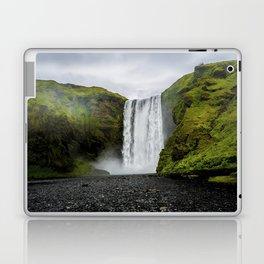 Skogafoss Waterfall Iceland Laptop & iPad Skin