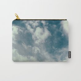 Soft Dreamy Cloudy Sky Carry-All Pouch